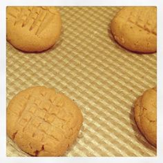coconut flour low carb no sugar Peanut Butter Cookies