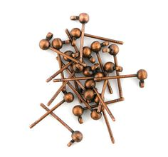 20 pcs 3mm Antique Copper Stud Ball by FancyGemsandFindings, $7.50 Antique Copper, Bobby Pins, Hair Accessories, Antiques, Antiquities, Antique, Hair Pins, Hair Barrettes, Hair Accessory