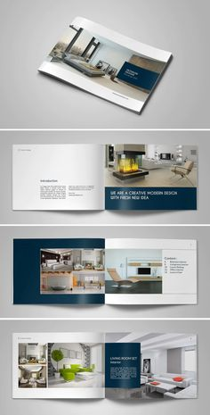 Landscape Catalog Design - INDD, PSD - 16 Pages A5
