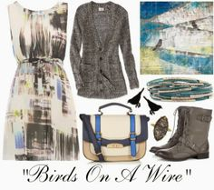 """Crafty Lady Abby: OUTFIT: """"Bird On A Wire"""""""