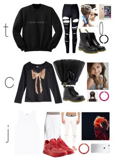 """""""11/15/16"""" by as-our-worlds-collide ❤ liked on Polyvore featuring WithChic, Dr. Martens, Little Wardrobe London, Zimmerli, Puma, NIKE and theduns"""