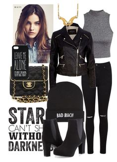 """""""Good Boys Like Bad Girls"""" by arianalertxnh ❤ liked on Polyvore featuring Kill Brand, Miss Selfridge, Chanel, ASOS, River Island, Ashley Stewart and Carrera y Carrera"""