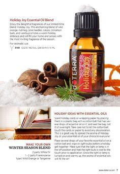 Christmas aromatherapy gift ideas from doTERRA - www.mydoterra.com ...