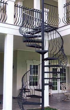 Did you know that spiral staircases will actually help you lose weight and tighten up muscles you had forgotten about?