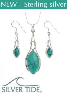 Talbot Fashions proudly offer you a first look at our stunning sterling silver brand SILVER TIDE.  The collection includes beautiful gemstone pendants & earrings with highly polished silver work.