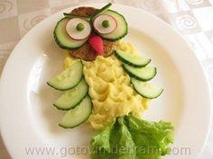 Trendy fruit and vegetables meals cooking Food Art For Kids, Cooking With Kids, Cooking Food, Breakfast For Kids, Breakfast Recipes, Cute Food, Good Food, Funny Food, Kids Menu