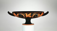 Attributed to Psiax | Terracotta kylix (drinking cup) | Greek, Attic | Archaic | The Met