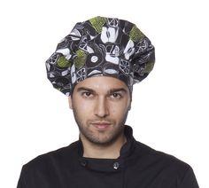 Artel Gorro cocina Artel estampado fruits tipo seta. Gorro CocinaGorros De  CocinaUniformes De CocinaColores VerdeBlancoNegroSetasUsuarioCada 32c9363713d