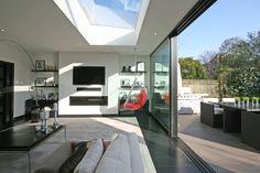 #Living, #Room, #Furniture, #modern Inside Outside, Open Up, Living Room, Outdoor Decor, Modern, Furniture, Home Decor, Interior Design, Trendy Tree