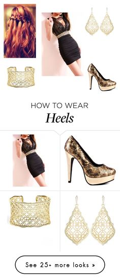"""""""Tess 20"""" by sumijepson on Polyvore featuring House of Deréon and Kendra Scott"""