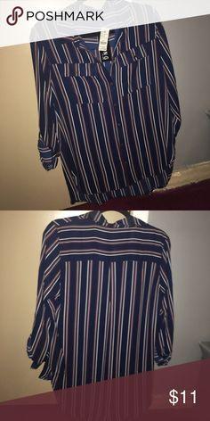 Brand new button down Brand new button down Tops Button Down Shirts