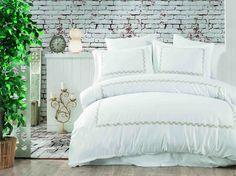 Exclusive Lenjerie de Pat Bumbac Satin Double - Spike Comforters, Satin, Blanket, Bed, Furniture, Home Decor, Creature Comforts, Quilts, Decoration Home