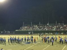 Sfhs 1st band outing vs Mountain View Hs