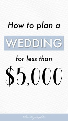 Discover how much it costs to have a wedding in 2019! Also learn about how to budget for a wedding and how to save up extra cash!