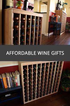 An affordable Wine Rack that is sure to make a great addition to any kitchen or living room.