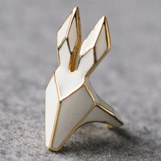 white rabbit ring.