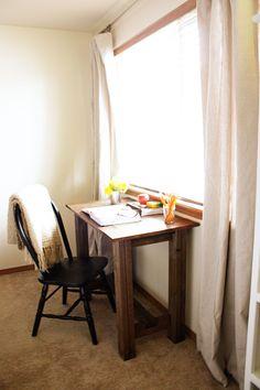 Diy small desk for Jack's room