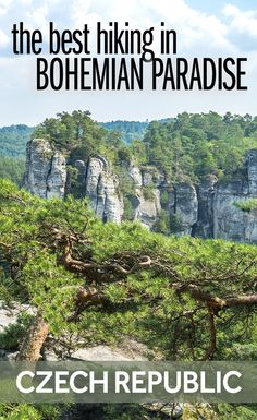 People always think of the Czech Republic's cities - but there's also some amazing nature in the Czech Republic. Some of the best hiking is in the stunning Bohemian Paradise, which is just a short day trip from Prague. Backpacking Europe, Europe Travel Tips, European Travel, Travel Destinations, Travelling Europe, Holiday Destinations, Italy Travel, Travel Guide, Traveling