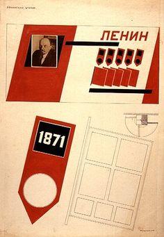 Fotomontagem Rodchenko  Canto de Lenin para os trabalhadores russos (1925)  Tinta nanquim preta e vermelha e foto colada sobre papel