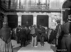 Plaza Mayor año 1900 Anónimo