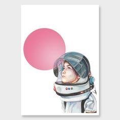 Flight of Fancy Art Print by Renee Nielsen - All Art Prints NZ Art Prints, Art Framing Design Prints, Posters