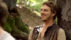 Joe Armstrong shows his teeth. Lucy Griffiths, Robin Hood Bbc, Sherwood Forest, Joe Armstrong, Story Characters, Period Dramas, Marvel Movies, Jane Austen, Best Tv