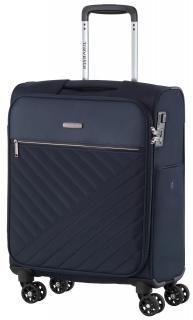 Kabinenkoffer Travelite Jade dunkelblau 54cm Marine 4-Rad - Bags & more Nylons, Kabine, Trolley, Suitcase, Jade, Dark Teal, Darkness, Suitcases, Nylon Stockings
