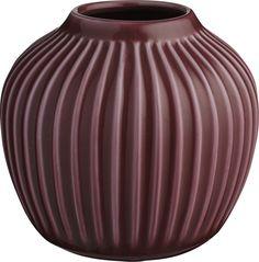Hammershøi vase 12,5cm Blomme fra Kähler – Køb online på Magasin.dk