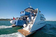 A bordo de um catamaran - WaterX