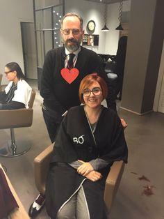 #BÓ jaume con una clienta muy querida. #Bopeluqueria #bospots #hair #hairstyle #peinados #moda #tendencias #peluqeria #Barcelona #event #peinados