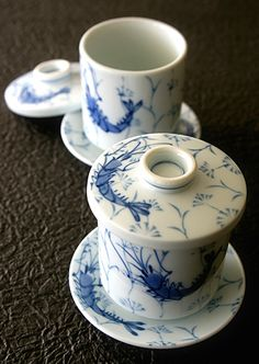 ✿ڿڰۣ(̆̃̃•Aussiegirl    Japanese cups for steamed egg custard