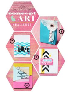 I found this on stampinup.com to inspire me to create.   Making a concept board to springboard my projects is a very real 'me' type method!