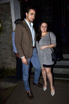 Imran Khan and wife Avantika clicked outside NIDO restaurant in Mumbai. #Bollywood #Fashion #Style #Beauty