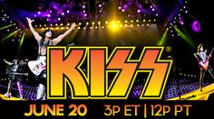 ROCK AND ROLL ALL NIGHT with KISS! This KISS MONSTER Tour show promises to blow you away with our LIVE from Zurich, Switzerland event. More excitement, the greatest songs and more music from the new KISS MONSTER album. KISS is rocking the world and only AXS TV has it LIVE June 20th!