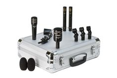 Audix DP Quad Drum Microphone Package with Case -This drum mic package from Audix includes six instrument-specific microphones for optimal results.