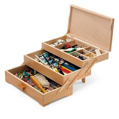 Sewing Box with 3 Drawers_04