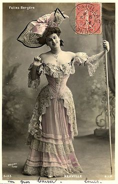 Dancer Ms. Folies Bergere | Free to use | Mary Allen Gunter | Flickr