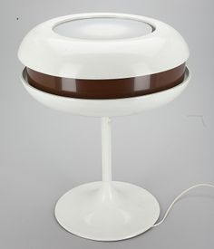 'Limppu' table light (Orno 940-175) designed by Heikki Turunen (Stockmann-Orno). Reference: http://www.muistaja.fi/imageinfo.php?id=16891&view=lres&prms=
