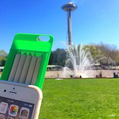 Stash up to 5 pre rolled smokes from the convenience of your iPhone! theiHit.com NEED