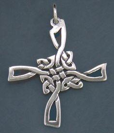 Celtic St. Brigid's cross - variation on Brigid's cross I'm familiar with but I like this one too.