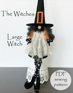 THE WITCHES PDF GNOME PATTERN