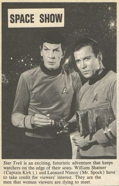 airyairyquitecontrary:  spockvarietyhour:  beyondspock:  (TV Star annual No. 23, 1967)  Spock has a bong and Kirk the rolling papers?  I hope not, because that looks like sandpaper. It's probably an actual paper map of the stars. Like they would use, right?I like the fact that this caption already acknowledges that Star Trek had a big female fanbase, and that a lot of it was there for Spock.