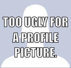 Humorous profile pics