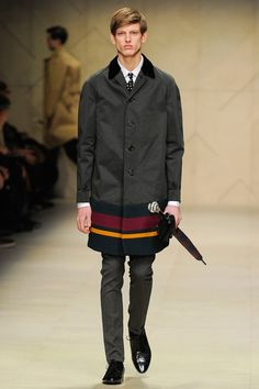 See the complete Burberry Fall 2012 Menswear collection.