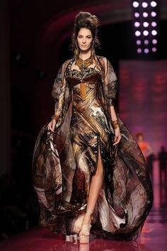 Jean Paul Gaultier: Runway - Paris Fashion Week Haute Couture S/S 2012 by brianna