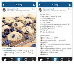 Blueberry Yoghurt Cookies