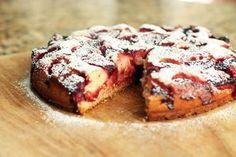 Strawberry Anytime Cake