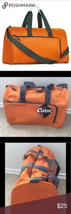 Curve Orange Brand New Weekender Duffle Bag Curve Orange Brand New Weekender Duffle Bag Bags Travel Bags