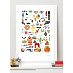 SWEDEN COLLECTION: Best of Sweden. A3 poster. #nordicdesigncollective #mynordicfeeling