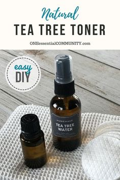 Essential oil toner for acne controls excess oil shrinks appearance of pores soothes skin Homemade Toner, Tea Tree Oil For Acne, Acne Oil, Acne Control, Toner For Face, Facial Toner, Facial Serum, Essential Oils For Skin, Pores
